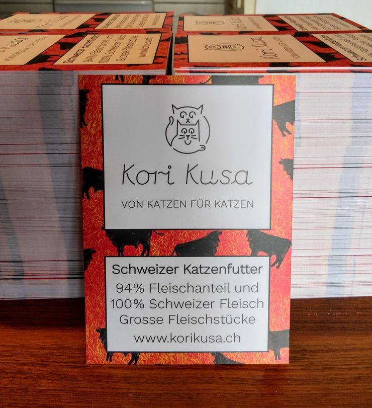 Kori-Kusa-Katzenfutter-Flyer-Schweizer-Fleisch