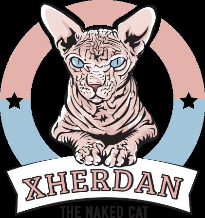Xherdan-the-naked-cat-Logo