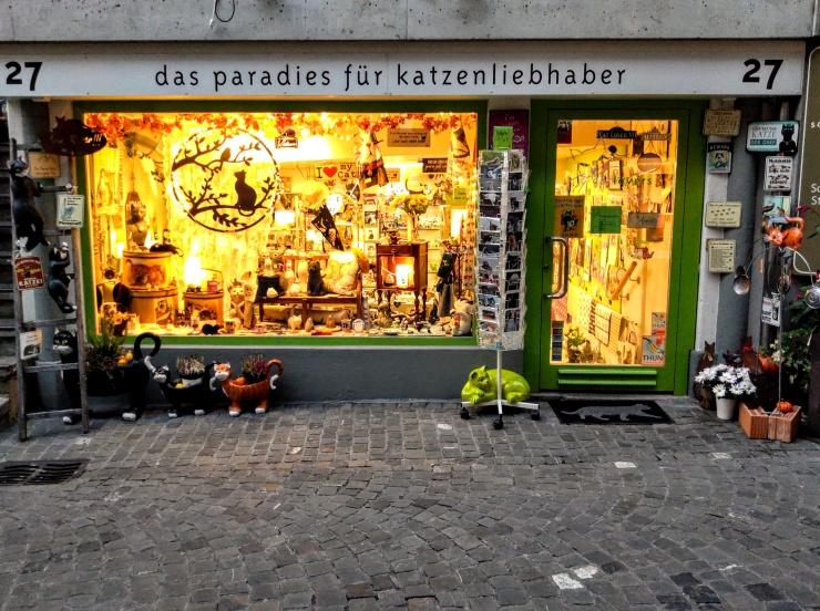 Catlovers-Thun-Geschäft